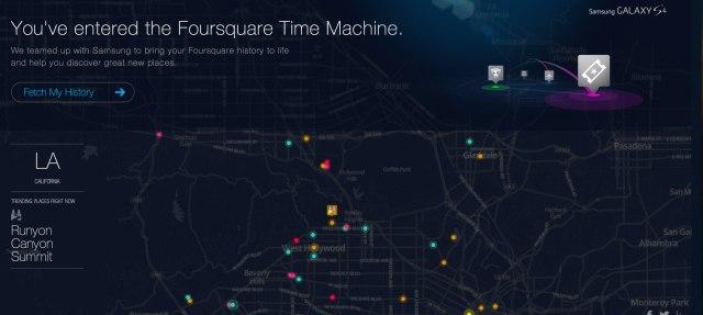 the-foursquare-time-machine