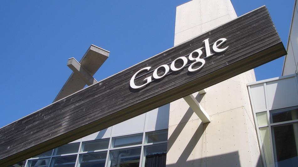 Google-sign-wood