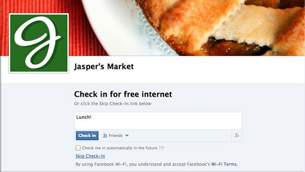 Facebook and Cisco to offer free WiFi for the price of a check-in