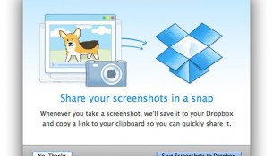Dropbox update adds automatic screenshot saving, iPhoto imports