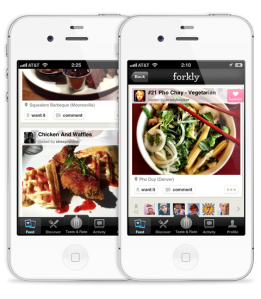 Forkly, The Foodspotting Competitor From Brightkite Founders, Is Looking For A New Home