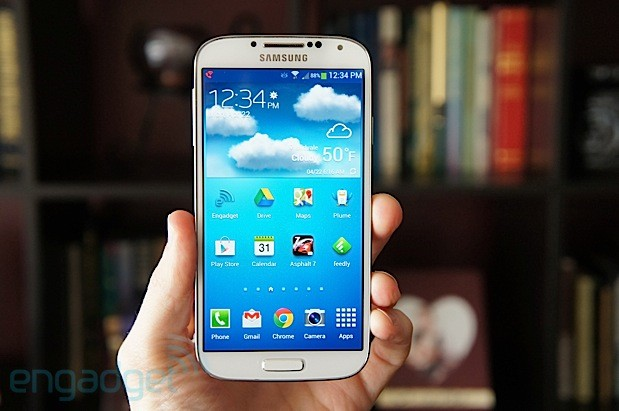 Samsung sold over 40 million Galaxy S4s in six months