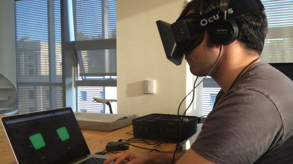 Oculus Rift Meets the iPhone for 'Neuromancer' Inspired Game