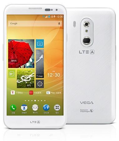 Pantech Vega LTE-A gains fingerprint-based mobile payments