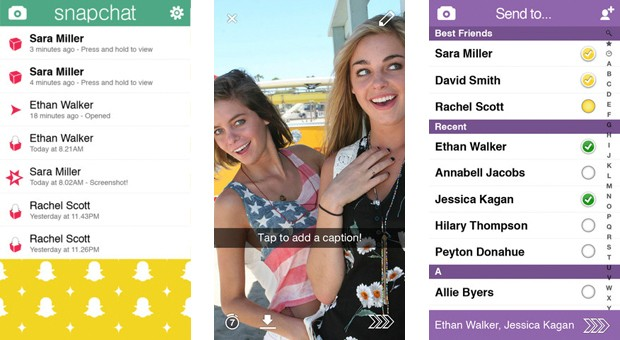 Snapchat has passed 'about a dozen' unopened messages to law enforcement under search warrant