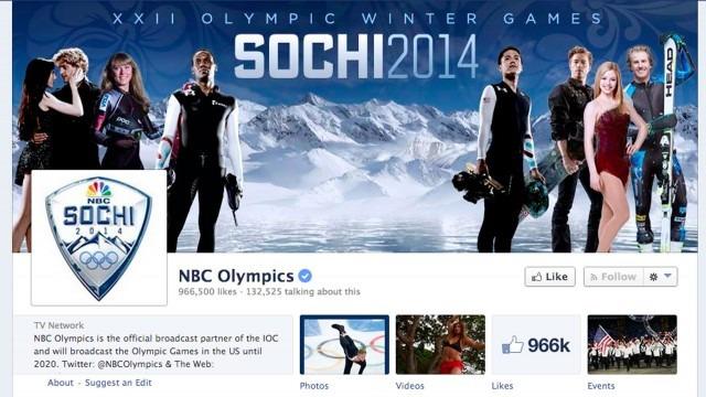 Image: Facebook/NBC Olympics