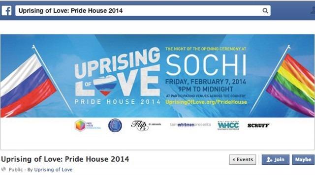 Image: Facebook/Uprising of Love: Pride House 2014