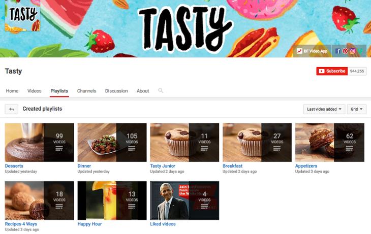 tasty-youtube-playlists