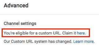 youtube-eligible-for-custom-url